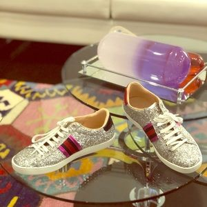 Gucci Ace Glitter Sneakers/ Tennis Shoes